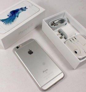 IPhone 6s на 16 гб серебристый