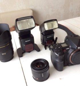 Комплект профессиональной фототехники Sony