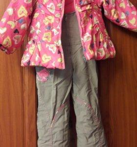 Куртка и штаны на лямках