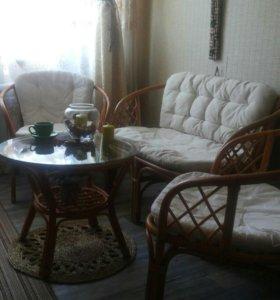 Мебель из натуральный ротанга