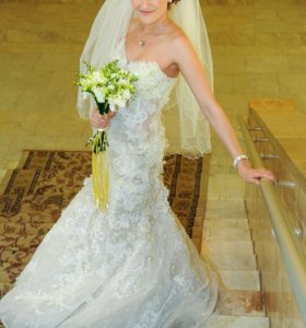 Платье свадебное (русалка) + фата