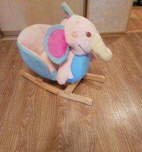 Качалка слоник