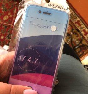 Силиконовый чехол на айфон 7,8