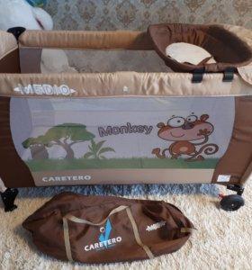 Продам Манеж-кровать Caretero Medio