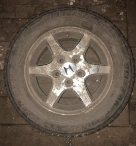 Диски литьё Хонда r15 5/114,3