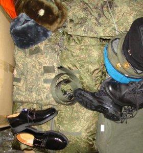 Армейская униформа и амуниция ВС РФ