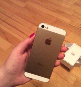 iPhone 5s ,16 гб , золотой
