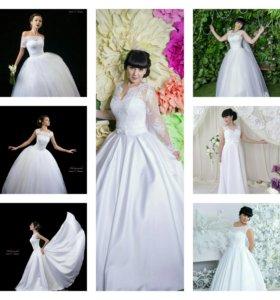 Новые свадебные платья цены от пяти тр