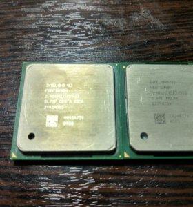 Процессор intel pentium 4 (2 штуки)