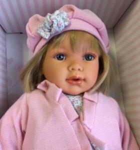 Виниловая кукла Antonio Juan Аделина, 55 см