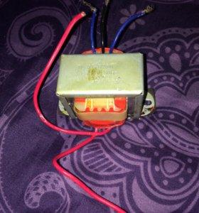 понижающий трансформатор 220/12 В