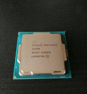 Pentium G4560 + кулер