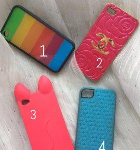 Чехлы на iPhone 4/4s от 25₽ до 50₽ (100₽ комплект)