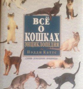 """Энциклопедия """"всё о кошках"""""""