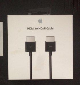 Кабель Apple HDMI–HDMI (1,8 м) новый