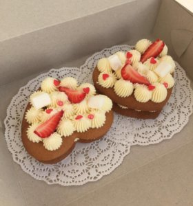 Мини-тортики, пирожные