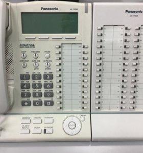 Мини-атс Panasonic KX-T7636 + KX-T7640
