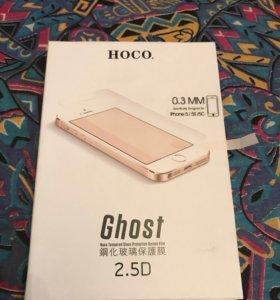 Защитное стекло HOCO IPhone 5,5s,5se