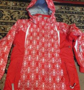 Спортивный зимний костюм детский