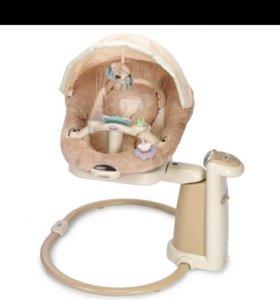 Детские электронные качели для новорождённых Gracо