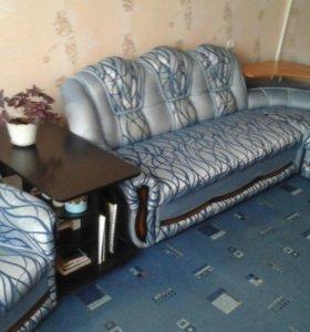 Мягкий уголок +2 кресла