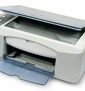 Принтер струйный под ремонт МФУ HP 1210