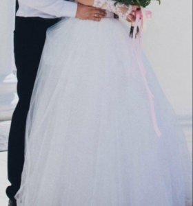 Свадебное платье за памперсы