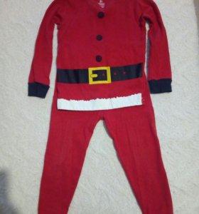 Новогодняя пижама Carter's