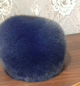 Новая песцовая шапка.