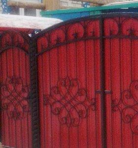 Ворота закрытые