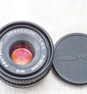 Pentacon Practicar MC 50/2.4 , байонет Praktica B
