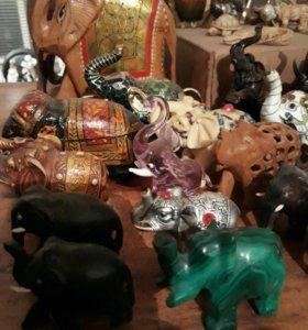 Коллекция слоников