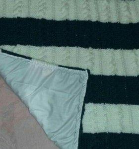 Детские одеяла и пледики на заказ. Ручной вязки.