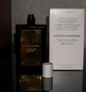 ANTONIO BANDERAS The golden secret 100 ml.