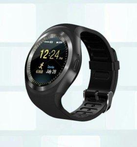 Новые элегантные умные часы, гарантия, доставка