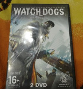 Диск с игрой WATCH_DOGS