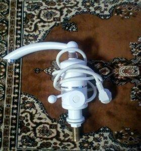 проточный водонагреватель кран