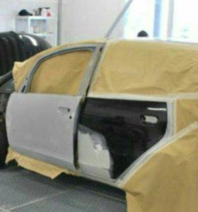 кузовной ремонт - покраска