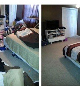 Генеральная и текущая уборка квартиры