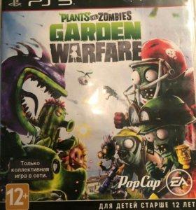Игра для ps3. Plants vs zombies garden warfare