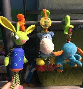 Игрушки-прищепки для малышей
