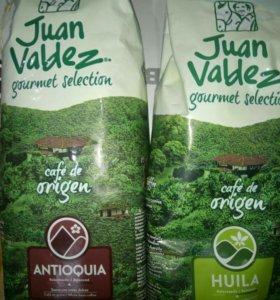 Кофе зерновой колумбийский Juan Valdez
