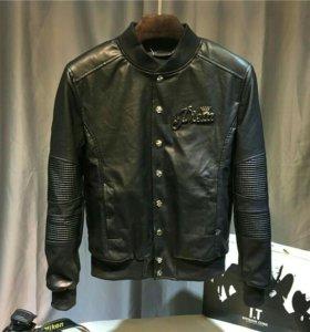 Кожанная куртка PP