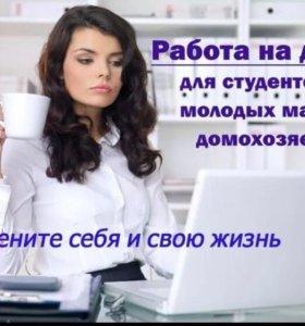 Работа на дому, 2-3 часа в день