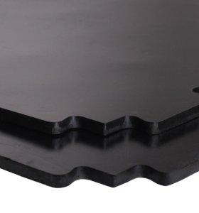 Резиновая модульная плита для спортивных залов