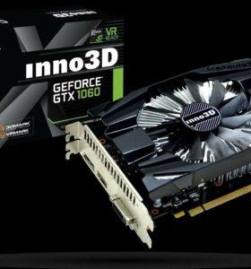 Видеокарта inno3D GeForce GTX 1060 6G Samsung