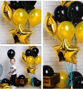 Гелиевые шары, фонтаны из шаров