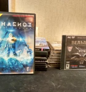 Компьютерные игры CD и DVD
