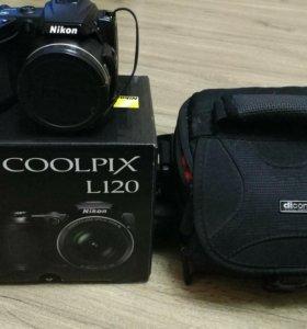 Цифровая фотокамера Nikon L120
