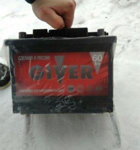 Аккумулятор GIVER-6СТ-60